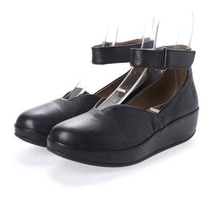 【アウトレット】ヨーロッパコンフォートシューズ EU Comfort Shoes FLYLONDON サンダルパンプス(500.785) (ブラック)
