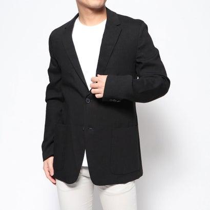 リネーム Rename リネン混テーラードジャケット (ブラック)