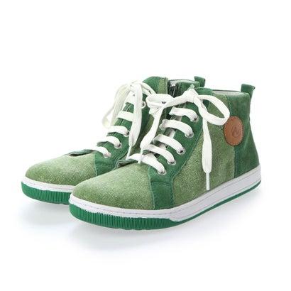 ヨーロッパコンフォートシューズ EU Comfort Shoes Naturino キッズハイカットスニーカー (グリーン)
