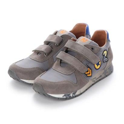 【アウトレット】ヨーロッパコンフォートシューズ EU Comfort Shoes Naturino キッズローカットスニーカー (グレー)