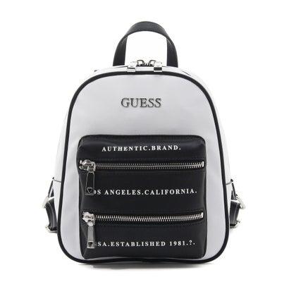 ゲス GUESS CALEY Backpack (WHITE MULTI)