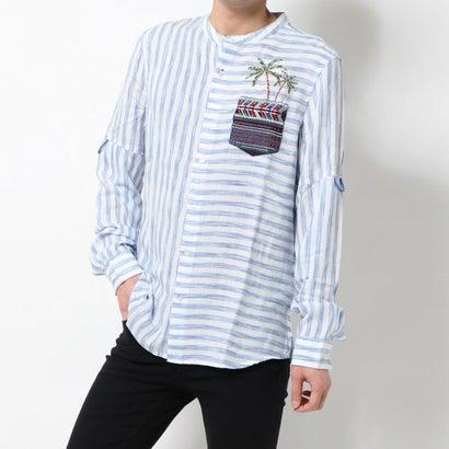 デシグアル Desigual シャツ長袖 CORWIN (ホワイト)