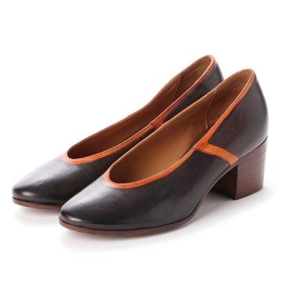 ヨーロッパコンフォートシューズ EU Comfort Shoes King Tartufoli チャンキーヒールパンプス(8770) (ベージュ)