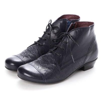 【アウトレット】ヨーロッパコンフォートシューズ EU Comfort Shoes BRAKO 6428 (ダークネイビー)