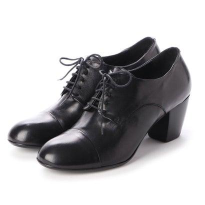 【アウトレット】ヨーロッパコンフォートシューズ EU Comfort Shoes King Tartufoli レースアップパンプス(KAPP06) (ブラック)