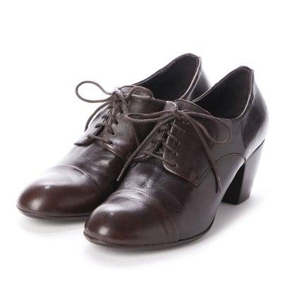 【アウトレット】ヨーロッパコンフォートシューズ EU Comfort Shoes King Tartufoli レースアップパンプス(KAPP06) (ダークブラウン)