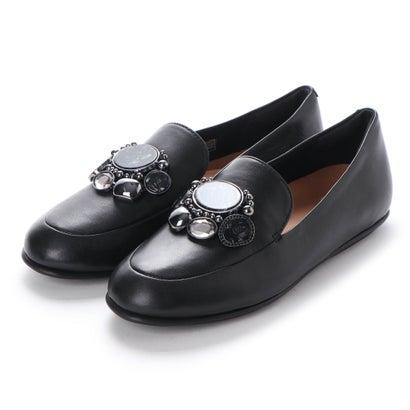 フィットフロップ fitflop LENA CLUSTER LOAFERS (Black)