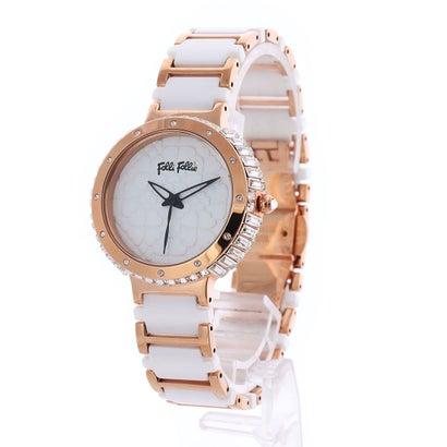 フォリフォリ Folli Follie H4H SYMPHONY セラミックウォッチ/腕時計 (ホワイト)