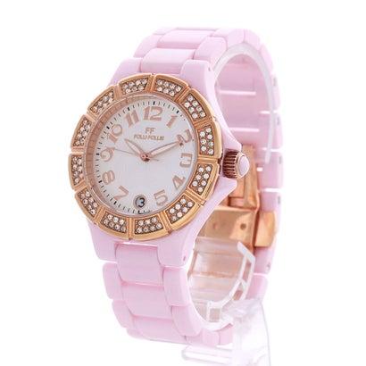 フォリフォリ Folli Follie セラミックウォッチ/腕時計 (ピンク)