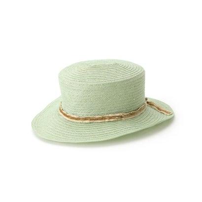 アクアガール aquagirl KIJIMA TAKAYUKIマニラ麻カンカン帽 (ライトグリーン)