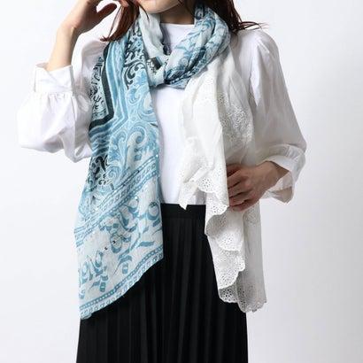 デシグアル Desigual スカーフ NAMASKARA (グレー/ブラック)