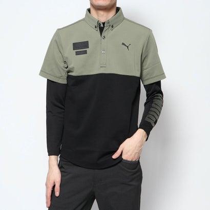 プーマ PUMA メンズ ゴルフ セットシャツ ゴルフ 2in1 セットシャツ 930071