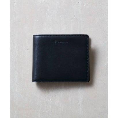 ティーケー タケオ キクチ tk.TAKEO KIKUCHI イタリアンレザー二つ折り財布 (ブラック)