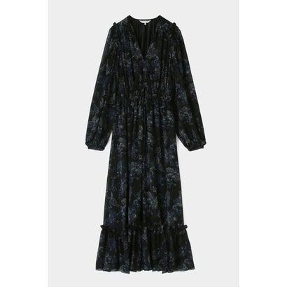 マウジー moussy PAISLEY PATTERN ドレス (ブラック)