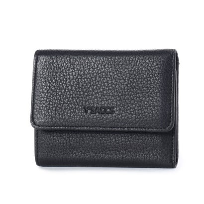 イザック YSACCS 三つ折りミニ財布 (ブラック)