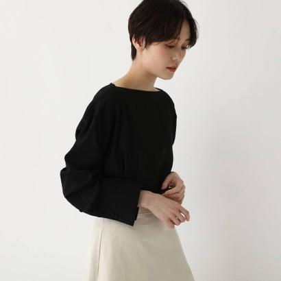 ドレステリア DRESSTERIOR 【洗える】ボートネックプルオーバー (ブラック)
