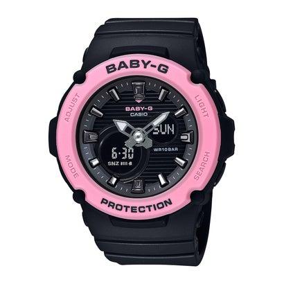 【BABY-G】BGA-270シリーズ / BGA-270-1AJF (ブラック×ピンク)