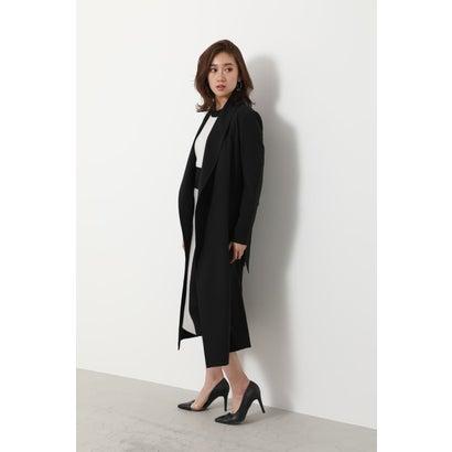 リエンダ rienda Soft Gown Coat (ブラック)
