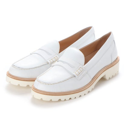 【アウトレット】ヨーロッパコンフォートシューズ EU Comfort Shoes Palanti ローファー(1574) (ホワイト)