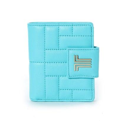 ランバン オン ブルー LANVIN en Bleu ベルシー 2つ折り財布 (アクアブルー)