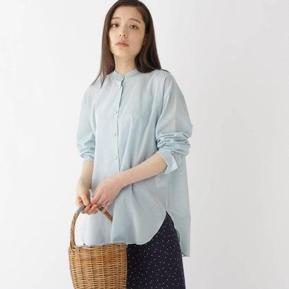 ドレステリア DRESSTERIOR 【洗える】ボイルシアーシャツ (オリーブグリーン)