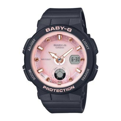 【BABY-G】Beach Traveler Series (ビーチ・トラベラー・シリーズ) / BGA-250-1A3JF (ブラック×ピンク)