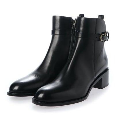 サルトル SARTORE ローヒールアンクルストラップブーツ (ブラック)