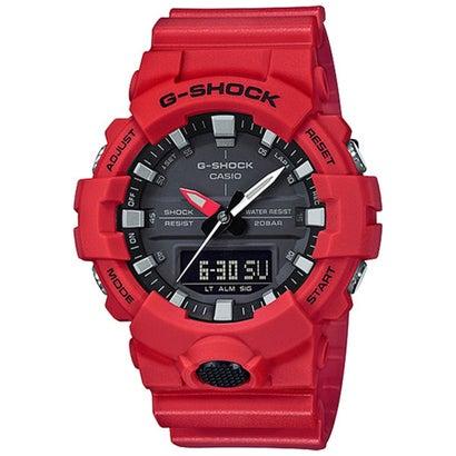 【G-SHOCK】GA-800 / ダブルLEDライト / GA-800-4AJF / Gショック (レッド×ブラック)