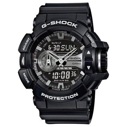 【G-SHOCK】感覚的な操作を実現したモデル / GA-400GB-1AJF / Gショック (ブラック)