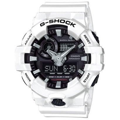 【G-SHOCK】GA-700シリーズ / アナログ/デジタル / GA-700-7AJF / Gショック (ホワイト×ブラック)