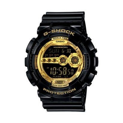 【G-SHOCK】Black × Gold Series(ブラック×ゴールドシリーズ) / GD-100GB-1JF / Gショック (ブラック×ゴールド)
