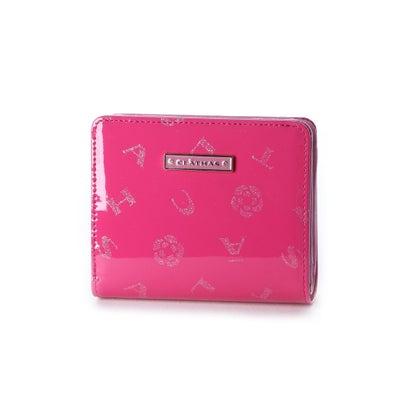クレイサス CLATHAS ラミ Lファスナー2つ折り財布 (ピンク)