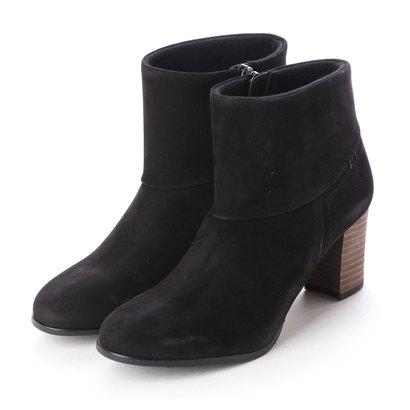 【アウトレット】シューズラウンジ shoes lounge 【本革】ショートブーツ 2656014BN (ブラック)