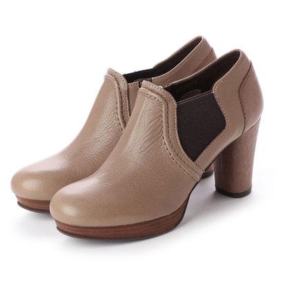 【アウトレット】シューズラウンジ shoes lounge 【本革】ブーティ 2527984GY (グレー)