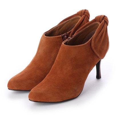 【アウトレット】シューズラウンジ shoes lounge 【本革】ショートブーツ 3585534CS (キャメル)