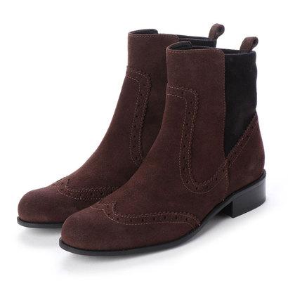 【アウトレット】シューズラウンジ shoes lounge 【本革】サイドゴアブーツ 4882544DBRS/ (ダークブラウン)
