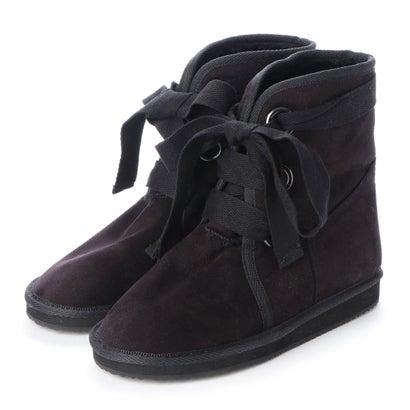 【アウトレット】シューズラウンジ shoes lounge 【本革】ブーツ 706214BLS (ブラック)