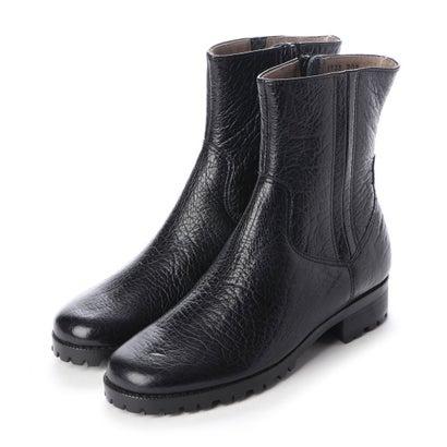 【アウトレット】シューズラウンジ shoes lounge 【本革】ショートブーツ 3917354BL (ブラック)