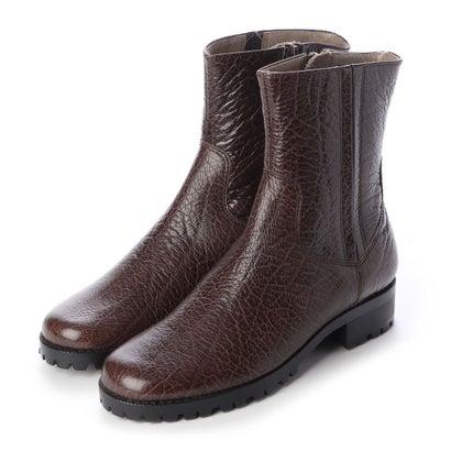 【アウトレット】シューズラウンジ shoes lounge 【本革】ショートブーツ 3917354DBR (ダークブラウン)