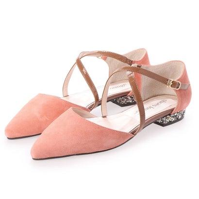 【アウトレット】シューズラウンジ shoes lounge フラット シューズ 52MOD614A4PIN/C (ピンク)