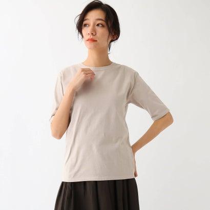 ドレステリア DRESSTERIOR ボタニカルダイTシャツ (ベージュ)