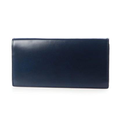 グレディア GREDEER コードバン長財布 (ブルー)