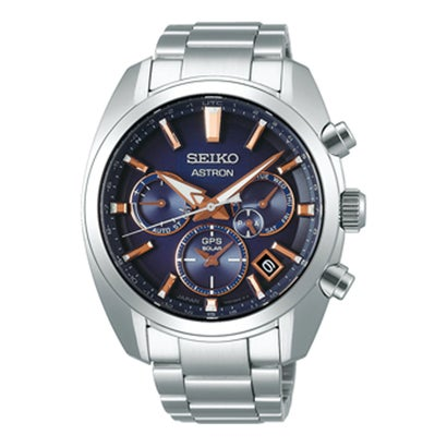 アストロン ASTRON 【SEIKO】日常生活用強化防水(10気圧) メンズ グローバルライン オーセンティック 5X【返品不可商品】 (グラデーションブルー)