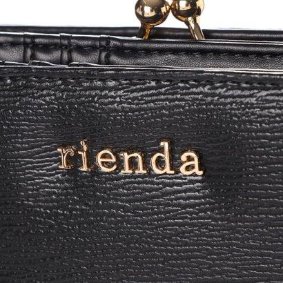 リエンダ rienda BASIC SLG MINI ROUND WALLET R03 2 00059ブラック0wN8nm