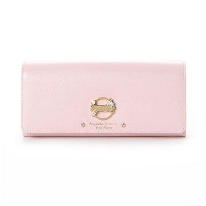 サマンサタバサプチチョイス ★リリー かぶせ財布 ピンク