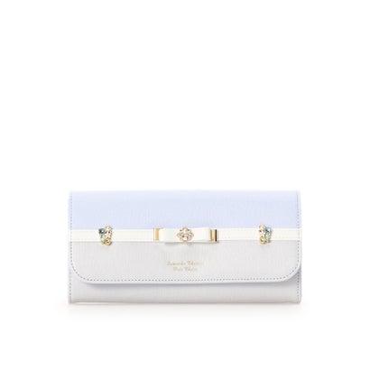 サマンサタバサプチチョイス NEWバイカラーシリーズ(長財布) ライトブルー