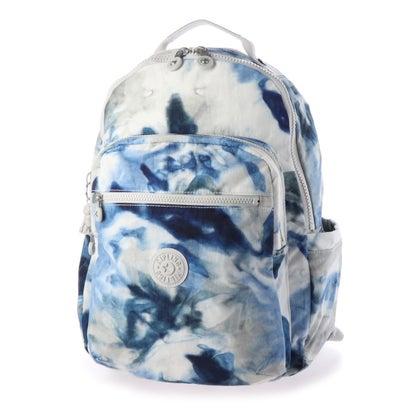 キプリング Kipling SEOUL (Tie Dye Blue)