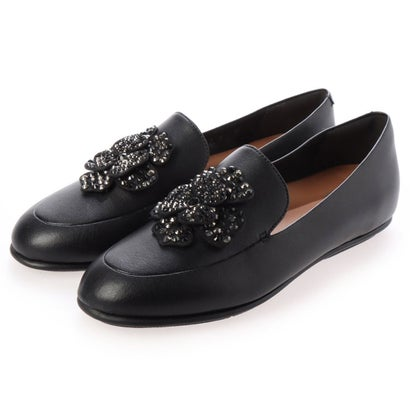 フィットフロップ fitflop LENA CORSAGE LOAFERS (All Black)