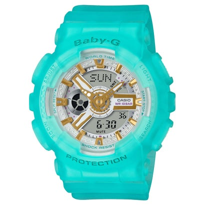 【BABY-G】Sea Glass Colors(シーグラス・カラーズ) / BA-110SC-2AJF / ベビーG (ブルースケルトン)