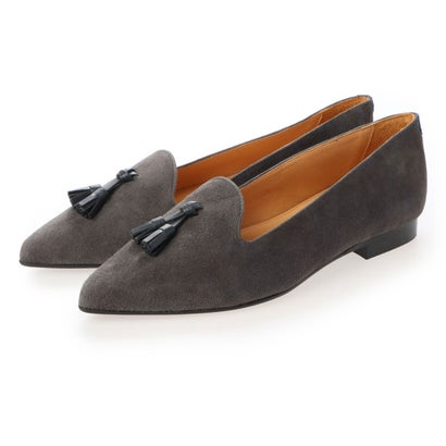 シャテル Chatelles Francois Pointy Antracite Tassels (Dark gray)